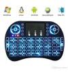 Mini teclado con Touchpad retroiluminado