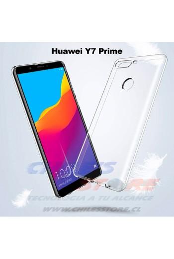 Carcasa Transparente Huawei Y7 Prime