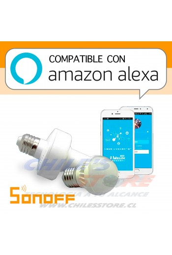 Sonoff Slampher: Soquete para lampara controlable vía WiFi