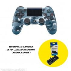 Joystick ps4 Sony + cargador doble de regalo
